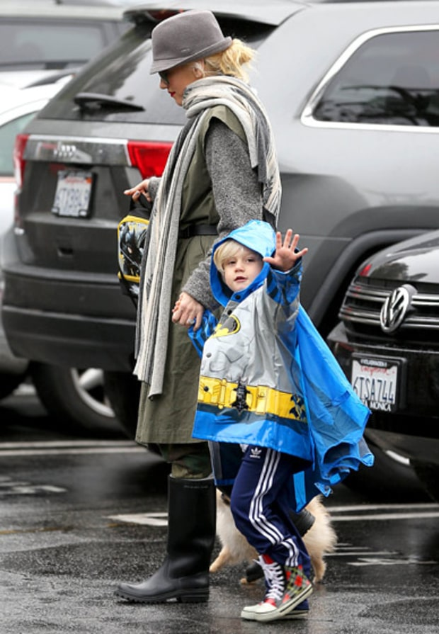 Zuma's Batman Raincoat!