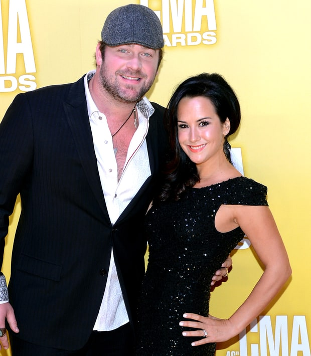 Lee Brice and Sarah Reevely