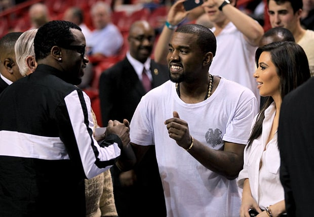 Kimye Hang With Diddy