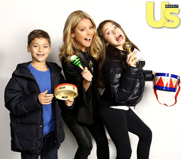 Kelly Ripa and Kids