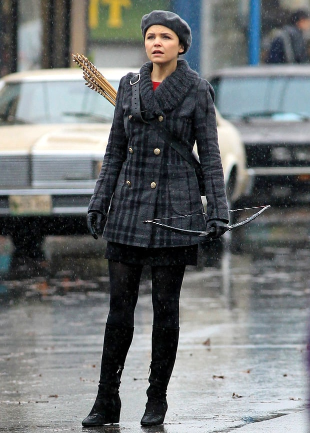 Snow White as Katniss?