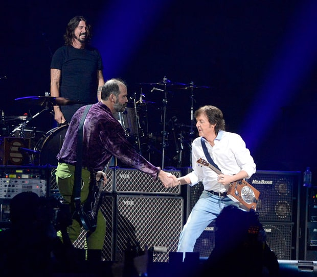 Dave Grohl, Paul McCartney