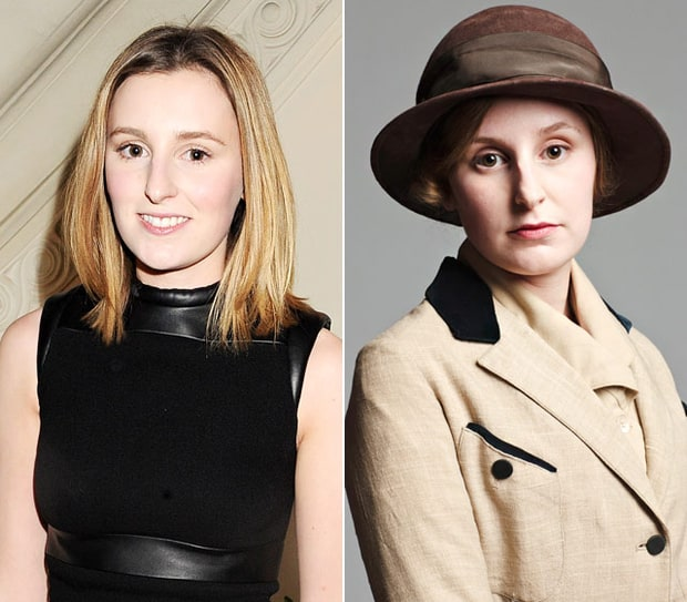 Laura Carmichael as Edith Crawley