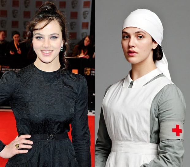Jessica Brown Findlay as Sybil Crawley