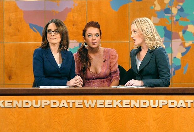 SNL Weekend Update with Lindsay Lohan