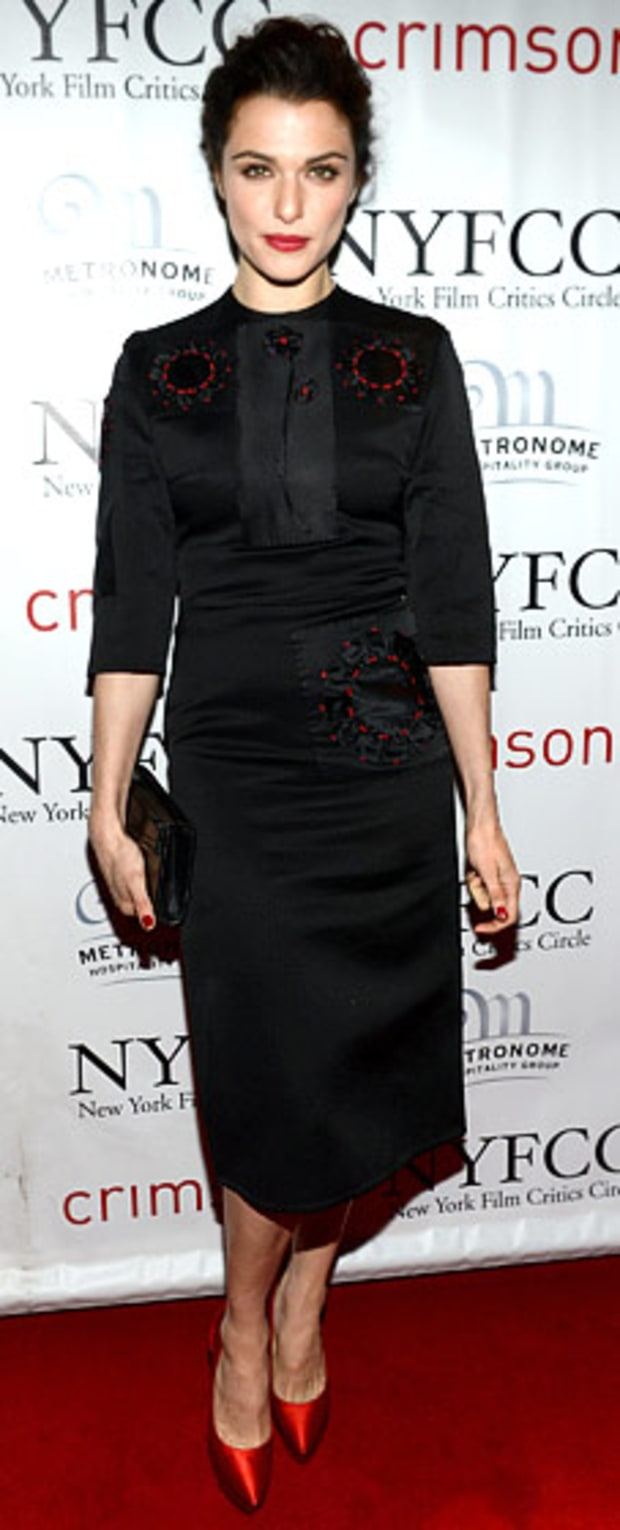 Rachel Weisz: 2012 New York Film Critics Circle Awards