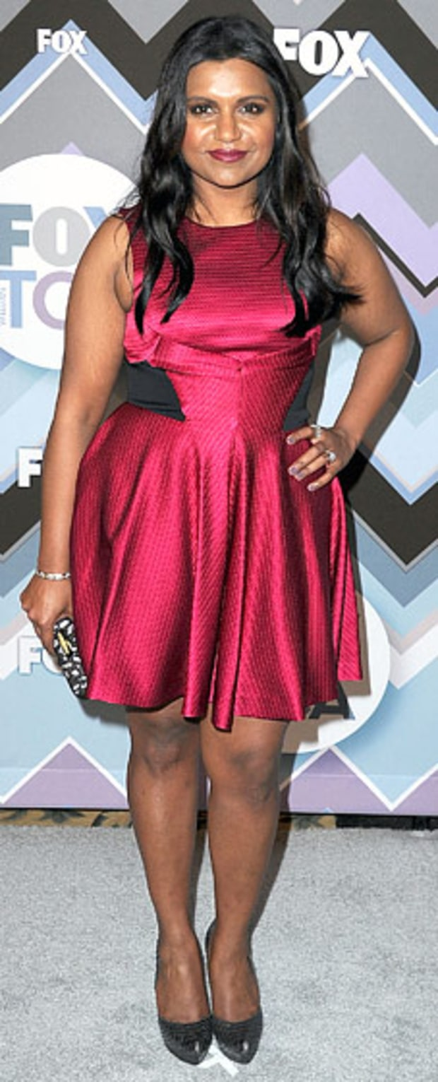 Mindy Kaling: 2013 TCA Winter Press Tour Fox All-Star Party