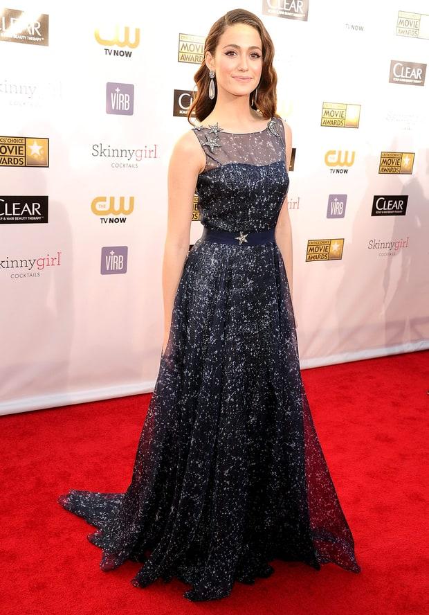 Emmy Rossum | Critics' Choice Movie Awards 2013: What the ... Emmyschoice