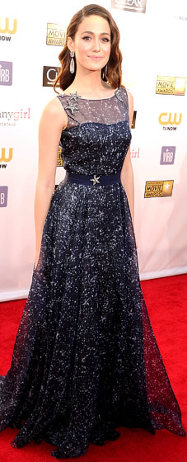 Emmy Rossum: 2013 Critics' Choice Awards