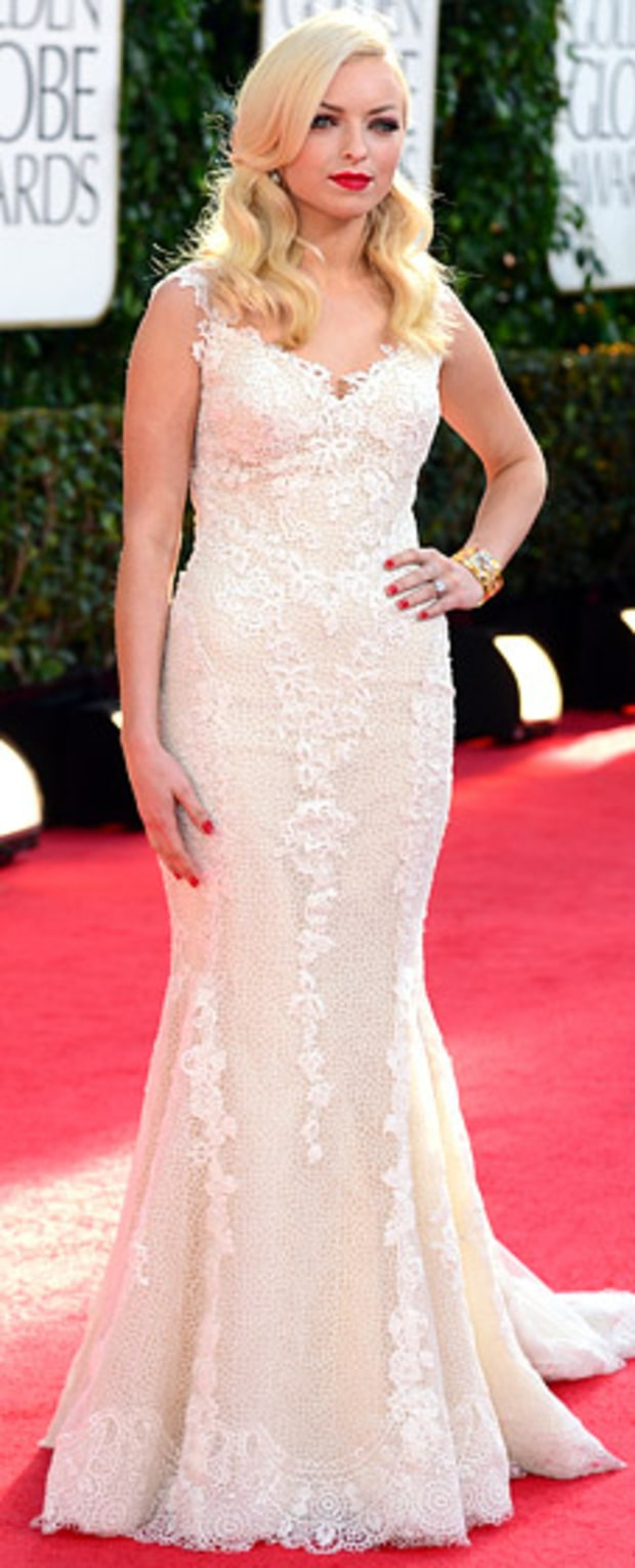 Francesca Eastwood at the 2013 Golden Globes