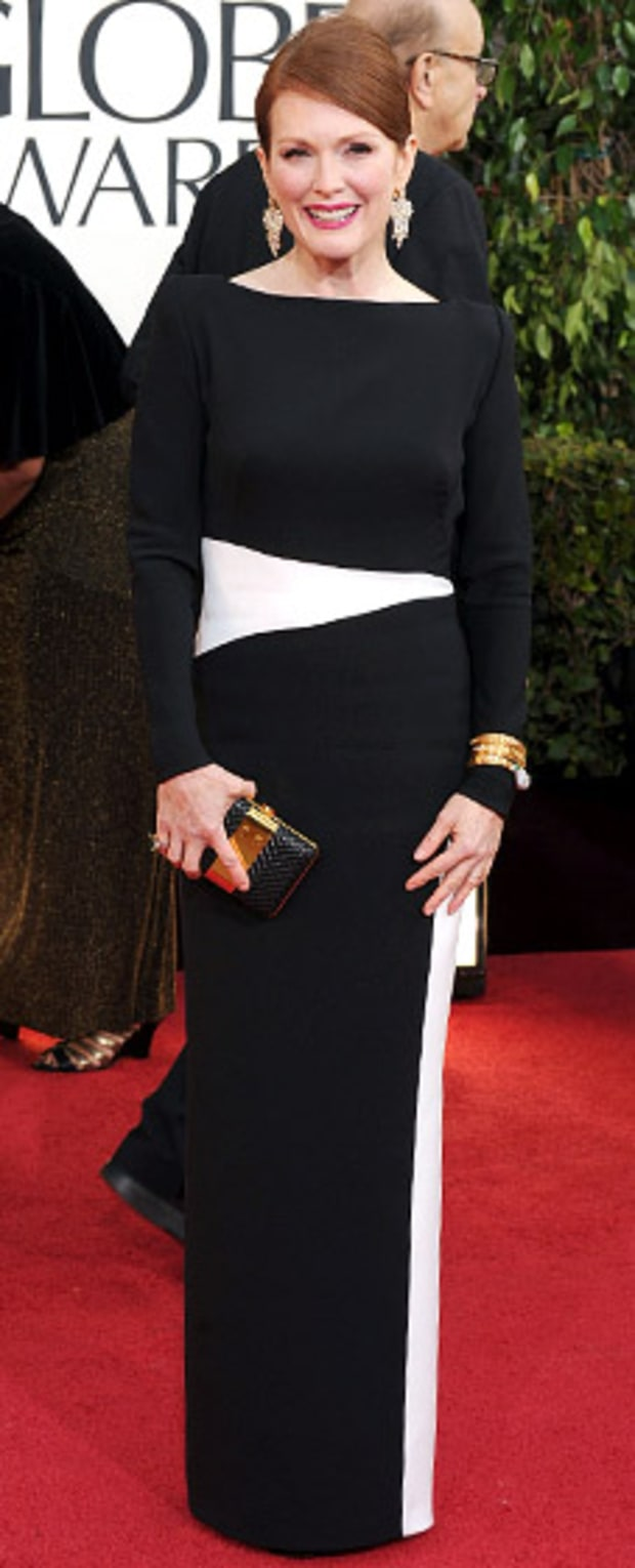 Julianne Moore at the 2013 Golden Globes