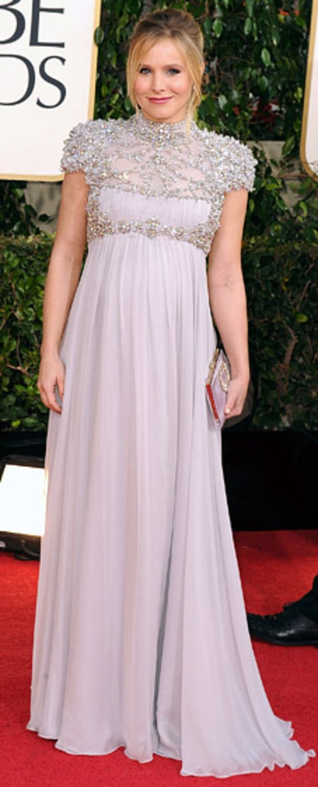 Kristen Bell at the 2013 Golden Globes