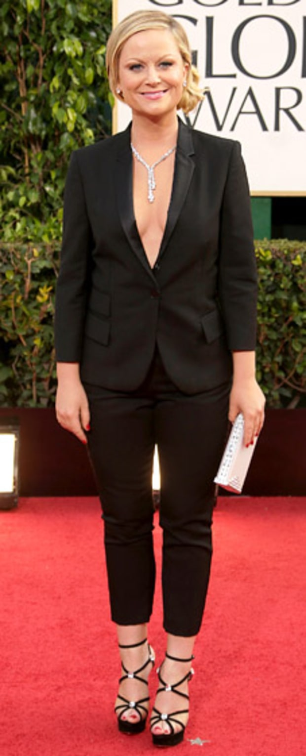 Amy Poehler at the 2013 Golden Globes