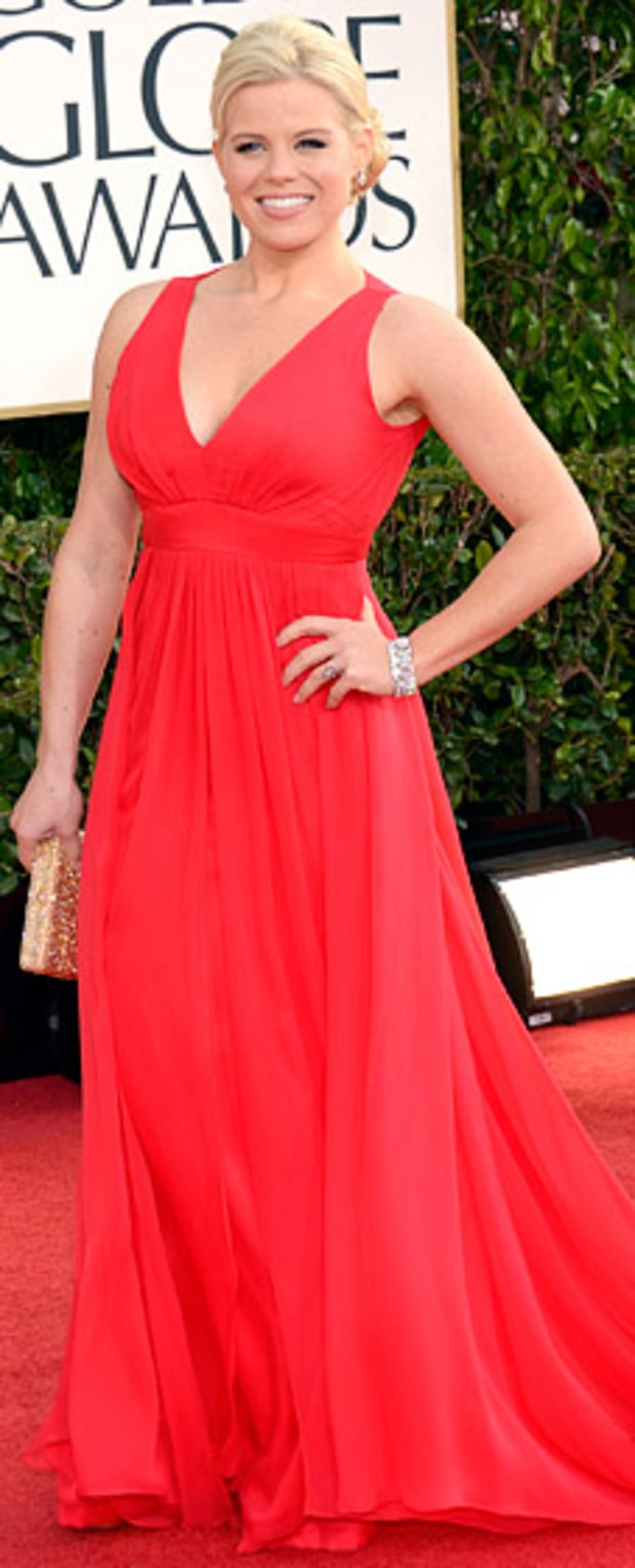 Megan Hilty at the 2013 Golden Globes