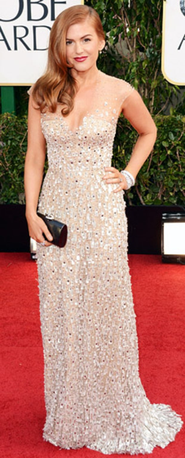 Isla Fisher at the 2013 Golden Globes