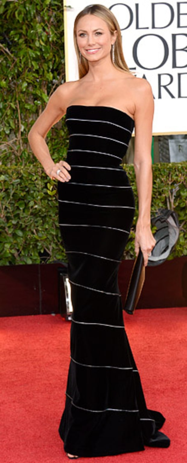 Stacy Keibler at the 2013 Golden Globes