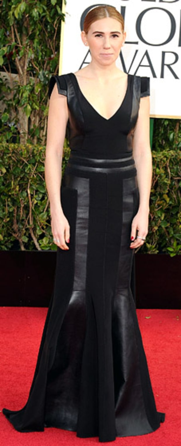 Zosia Mamet at the 2013 Golden Globes