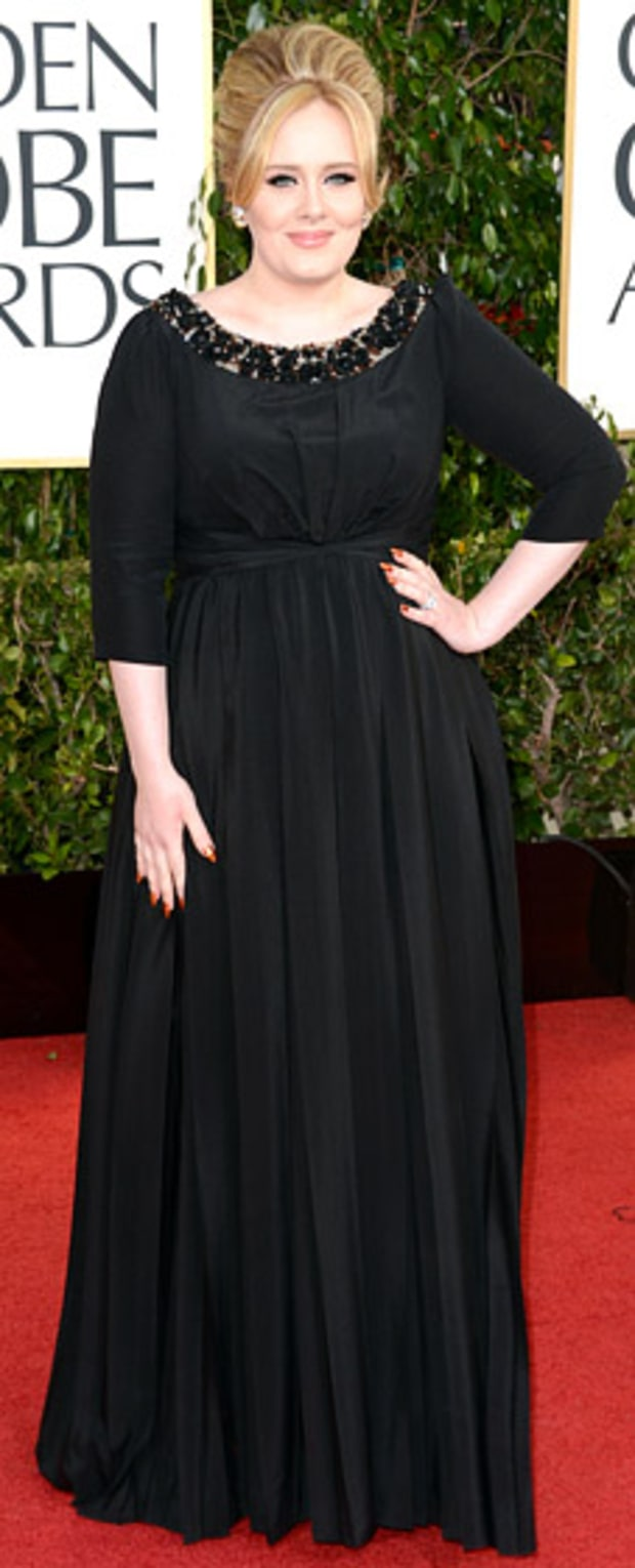 Adele at the 2013 Golden Globes