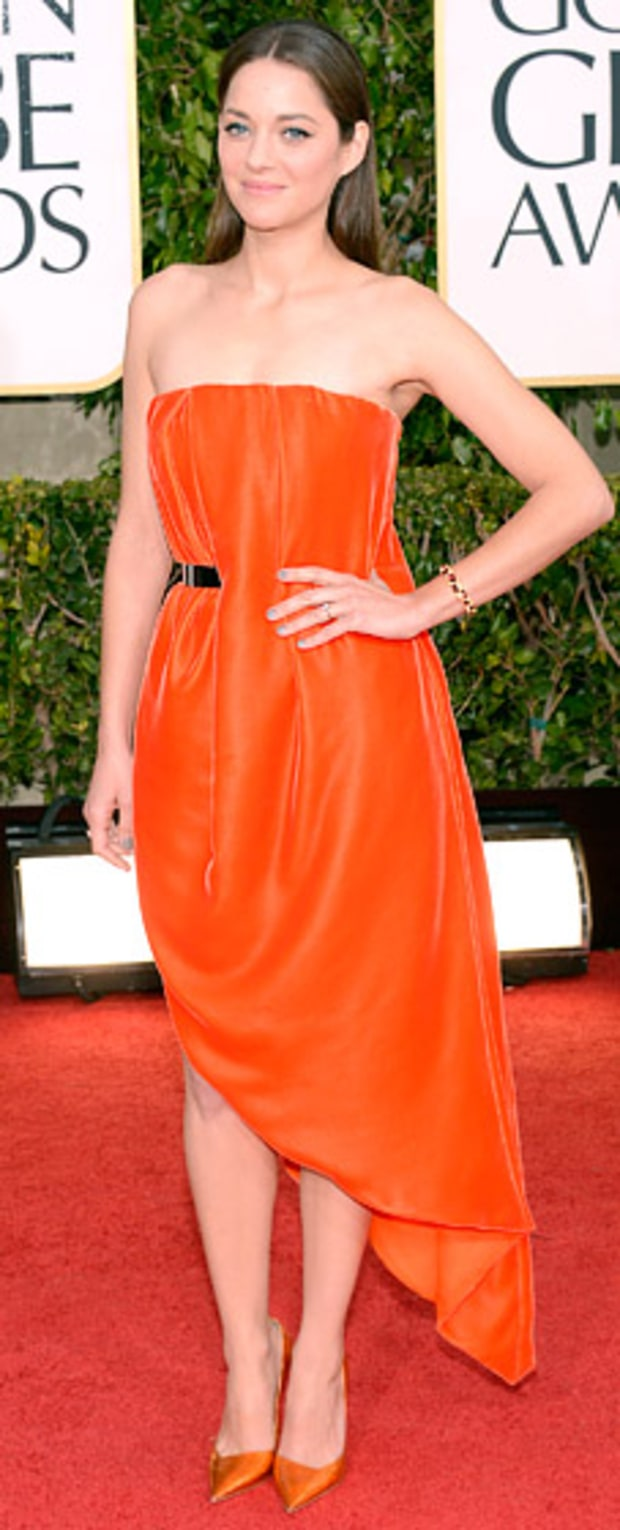 Marion Cotillard at the 2013 Golden Globes