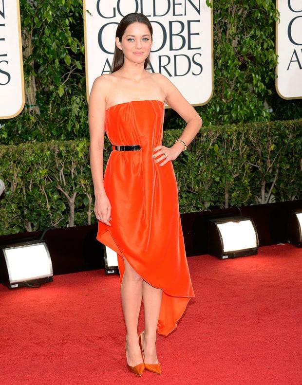 Marion Cotillard Golden Globes 2013 Best Dressed Stars
