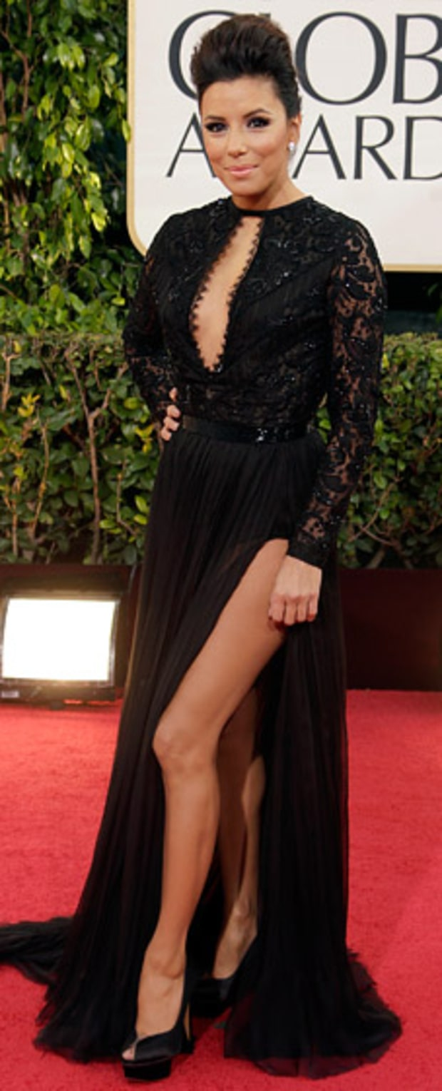 Eva Longoria at the 2013 Golden Globes