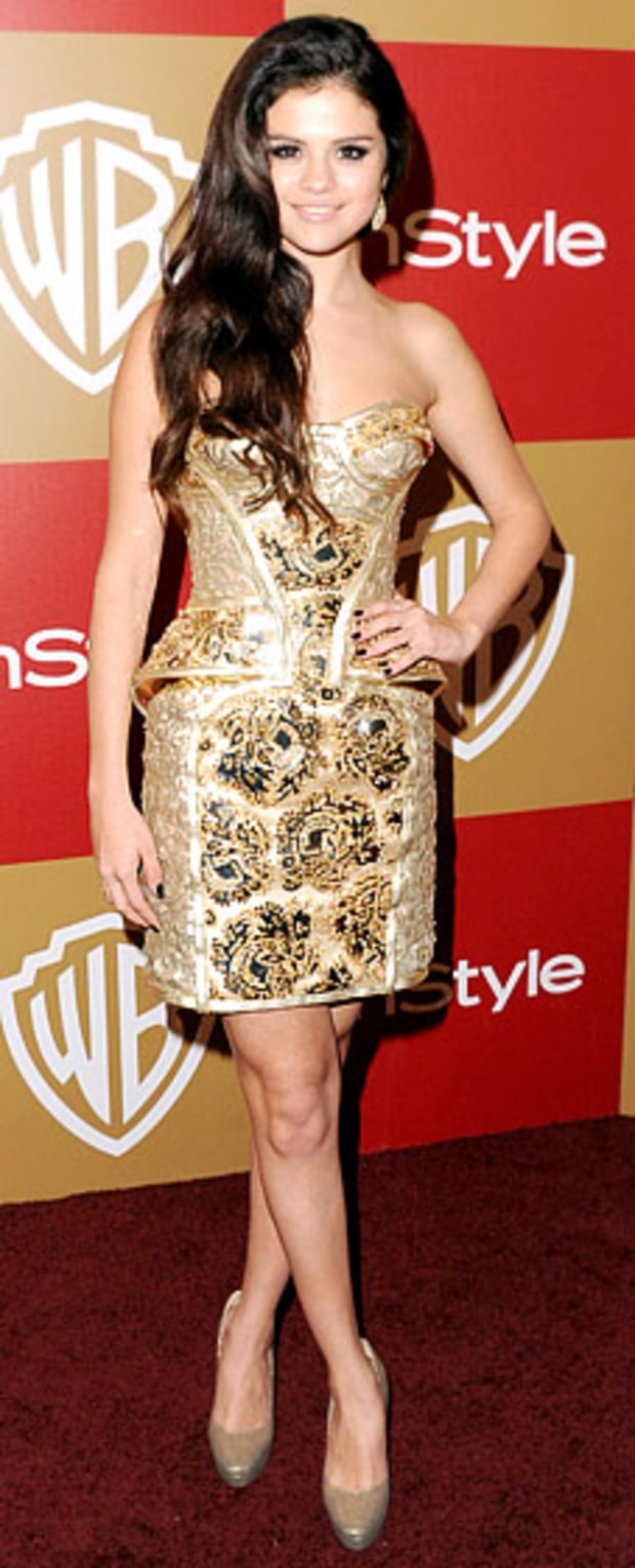 Selena Gomez: 2013 Warner Bros. and InStyle Golden Globe Awards After-Party