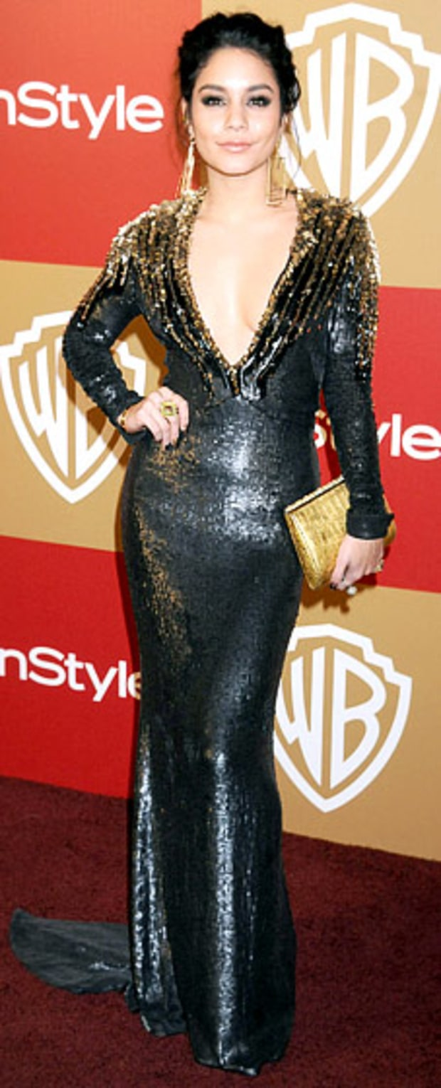Vanessa Hudgens: 2013 Warner Bros. and InStyle Golden Globe Awards After-Party