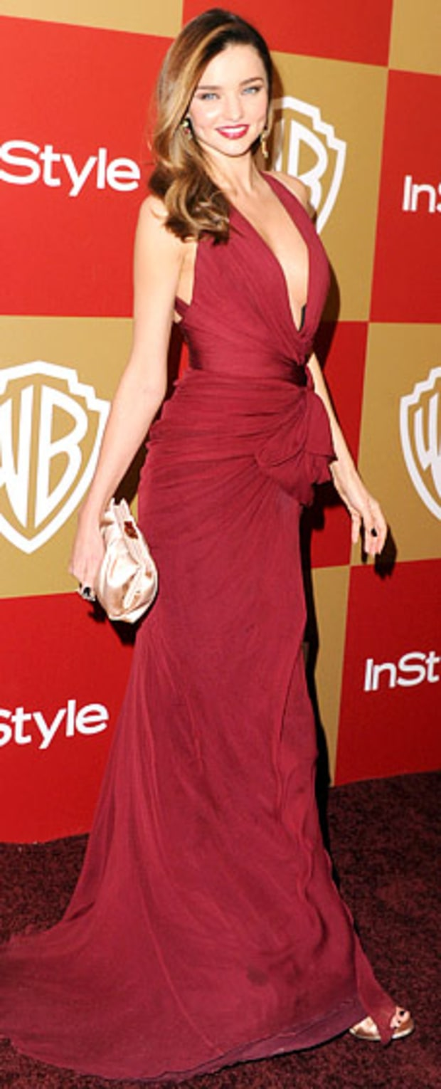 Miranda Kerr: 2013 Warner Bros. and InStyle Golden Globe Awards After-Party