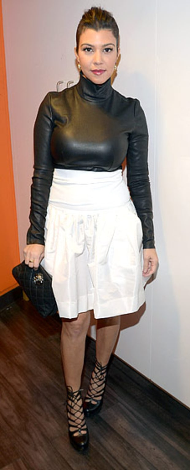 Kourtney Kardashian: Today Show Taping