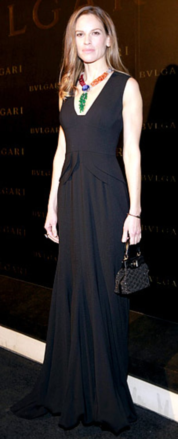 Hilary Swank: Bulgari Store Opening in Hong Kong