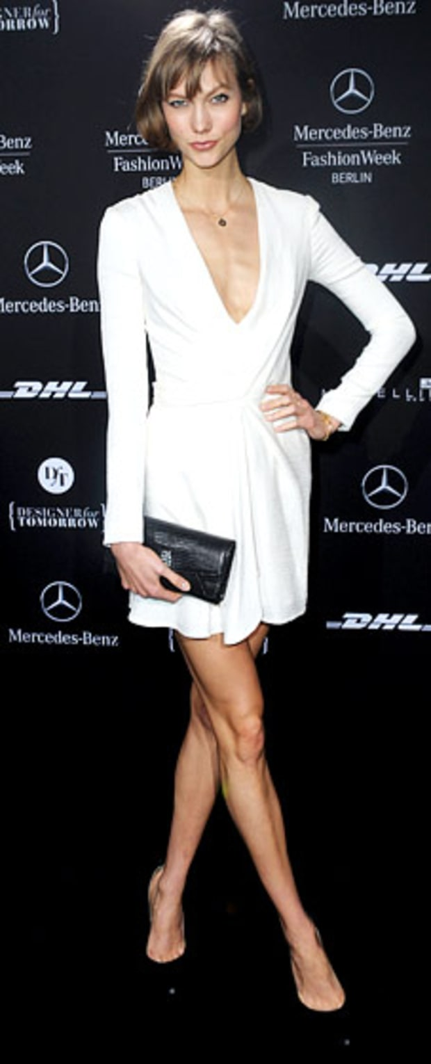 Karlie Kloss: Schumacher Arrivals—Mercedes-Benz Fashion Week Autumn/Winter 2013/14