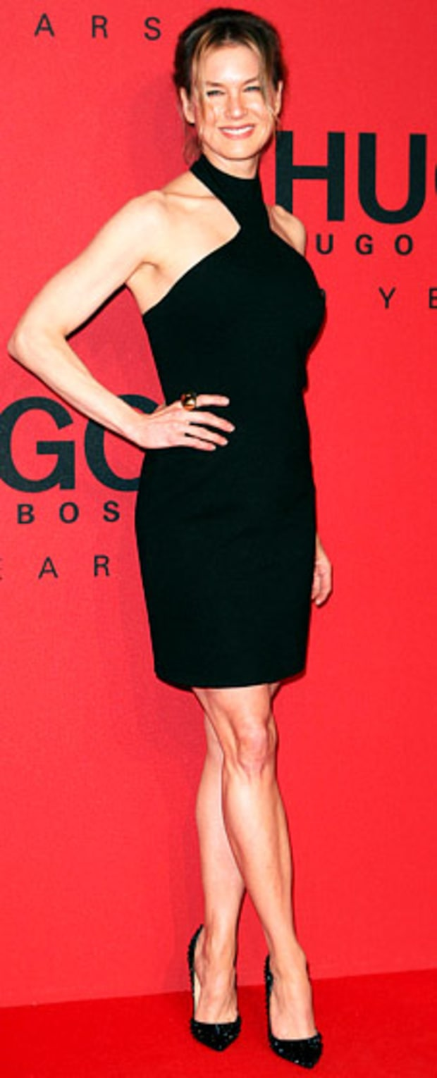 Renee Zellweger: Hugo by Hugo Boss Arrivals—Mercedes-Benz Fashion Week Autumn/Winter 2013/14