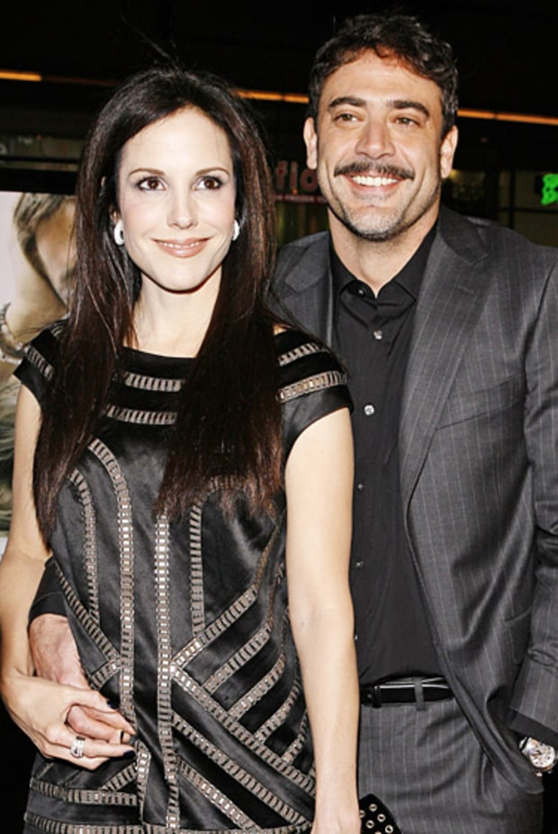 Mary-Louise Parker and Jeffrey Dean Morgan