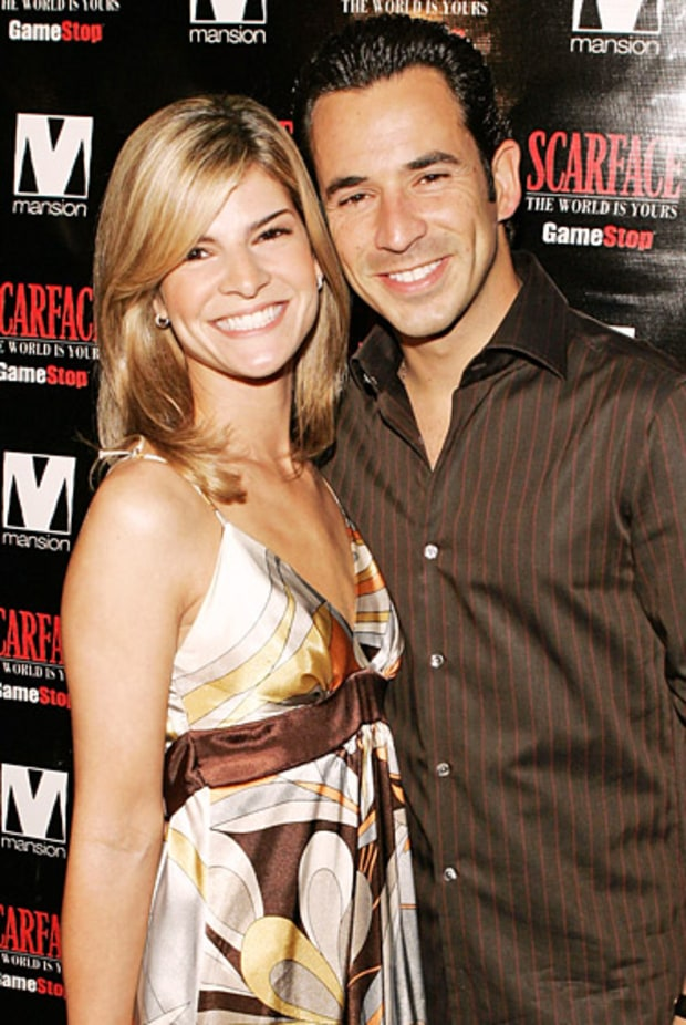 Aliette Vazquez and Helio Castroneves