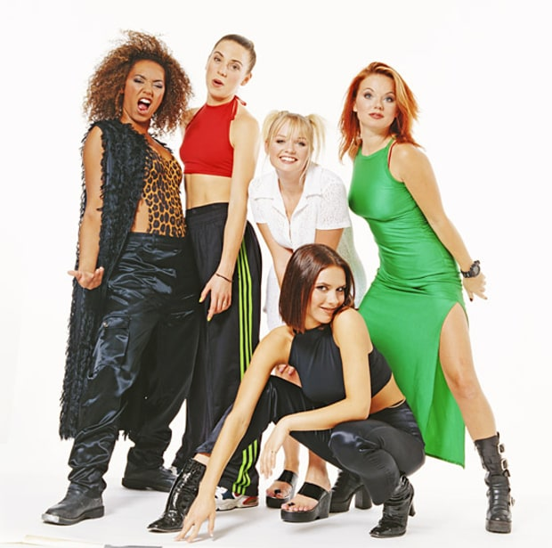 The Spice Girls: Then