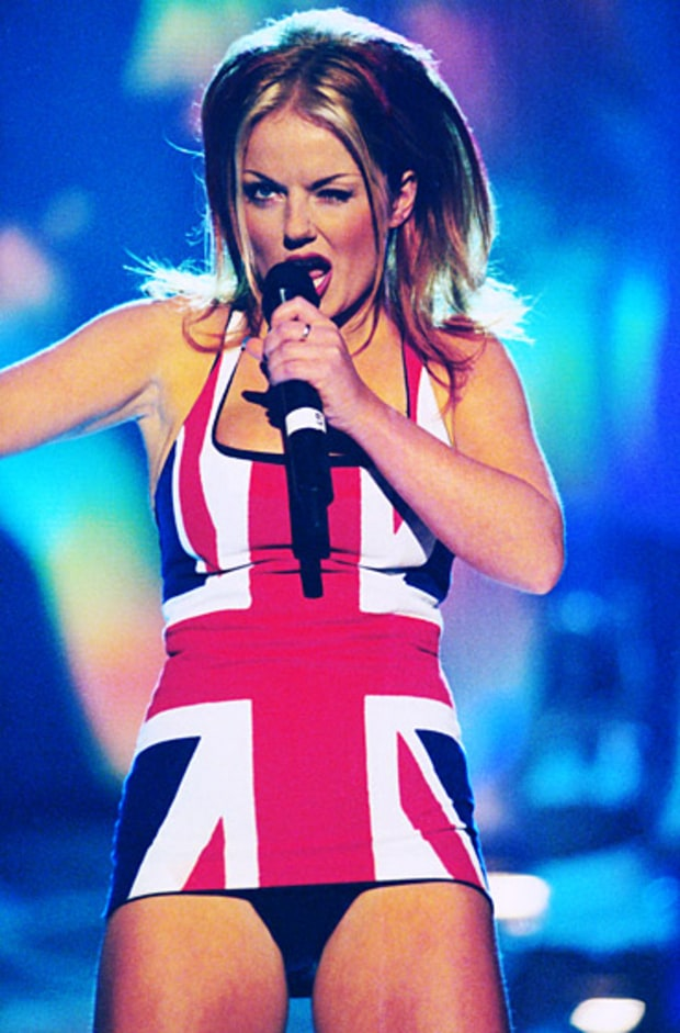 Ginger Spice: Then