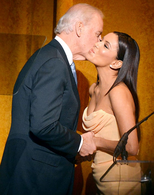 Vice President Joe Biden and Eva Longoria