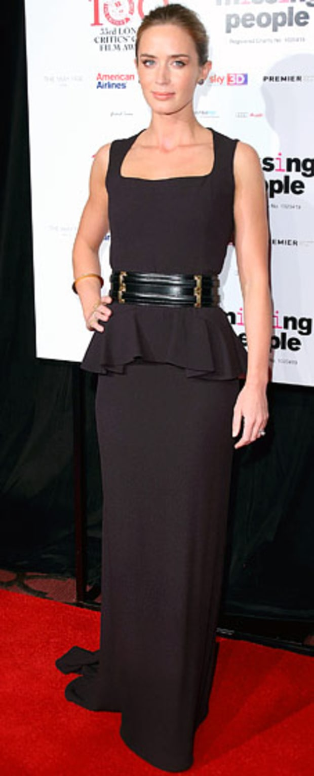 Emily Blunt: London Critics' Circle Film Awards