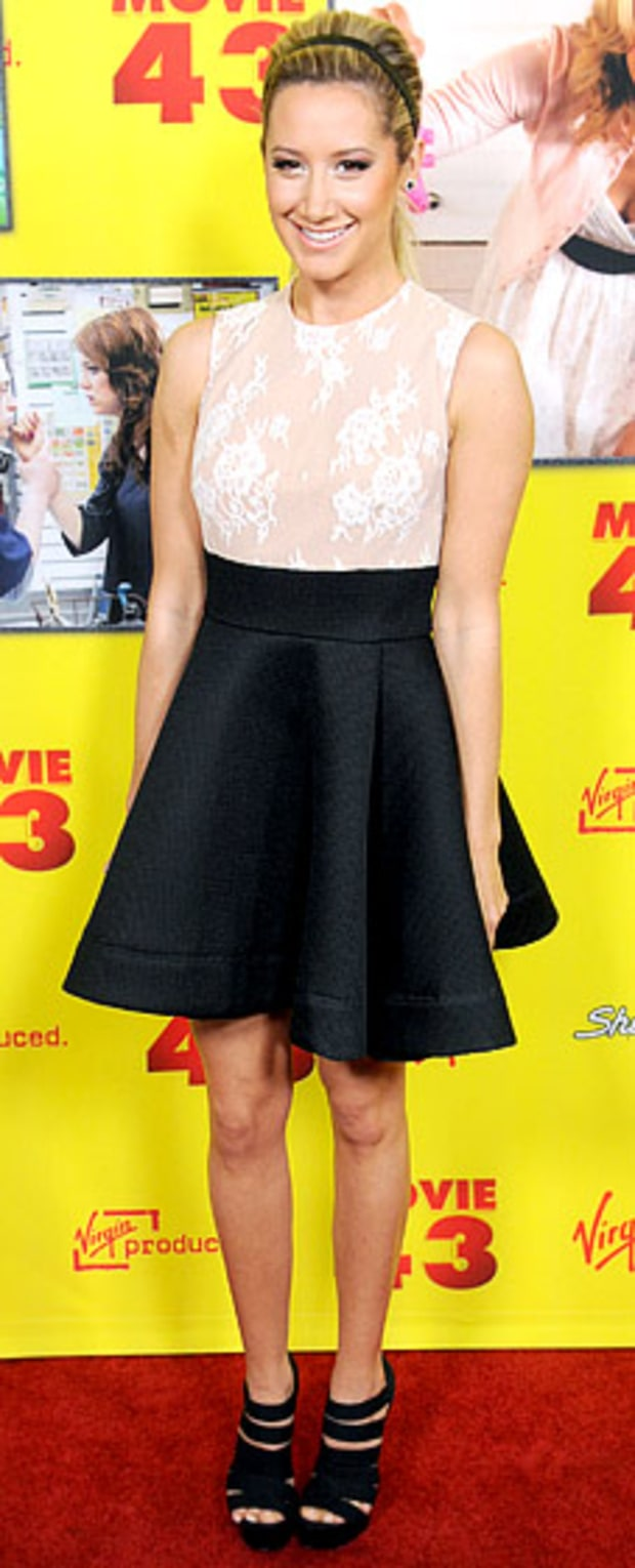 Ashley Tisdale: Movie 43 Premiere
