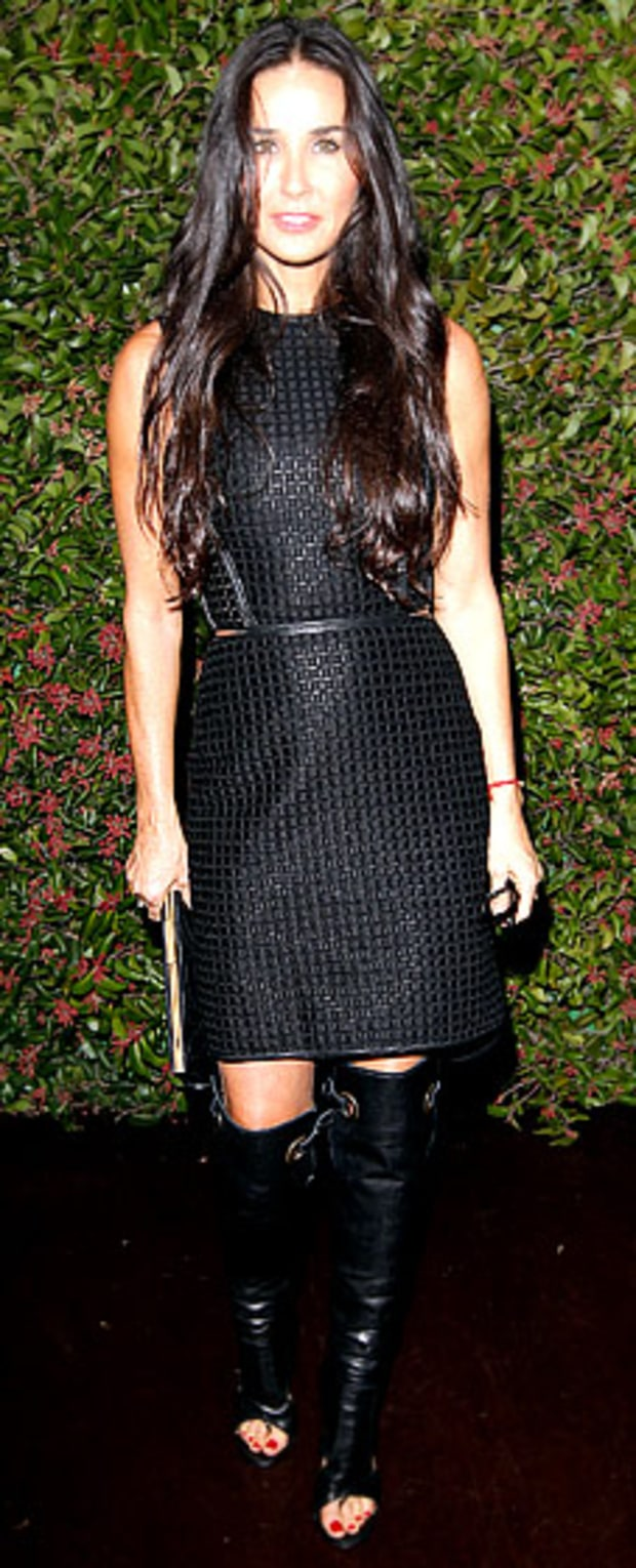 Demi Moore: Ferragamo Presents Spring Runway Collection