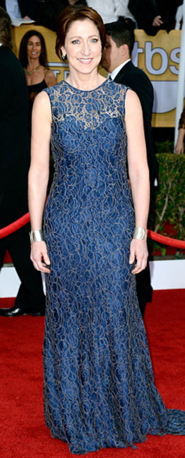 Edie Falco at the 2013 SAG Awards
