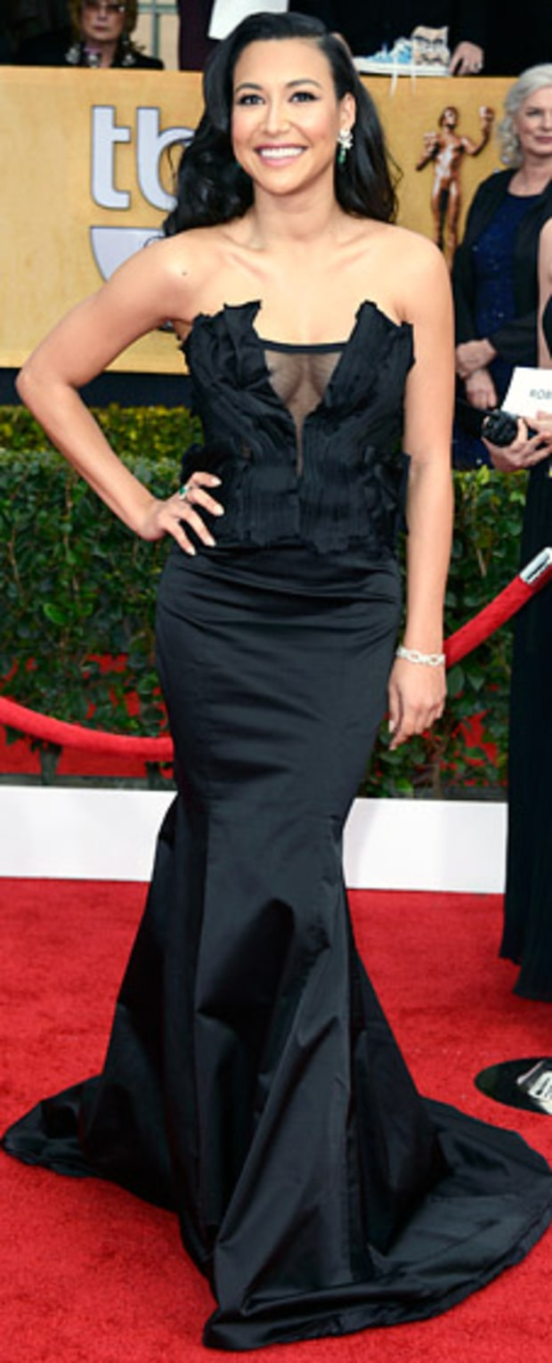 Naya Rivera at the 2013 SAG Awards