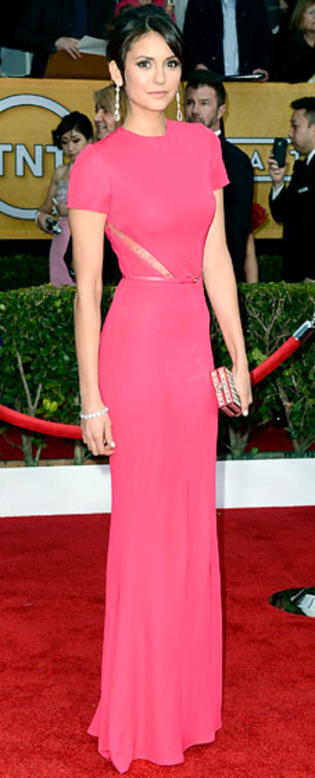Nina Dobrev at the 2013 SAG Awards