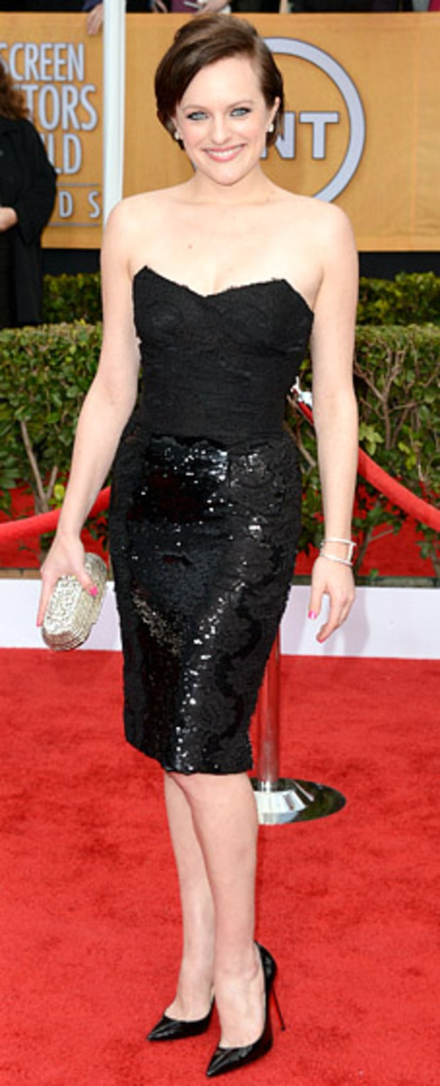 Elisabeth Moss at the 2013 SAG Awards