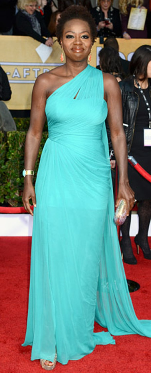 Viola Davis at the 2013 SAG Awards
