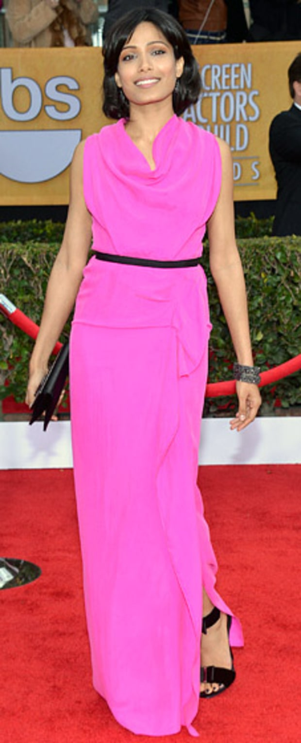 Freida Pinto at the 2013 SAG Awards