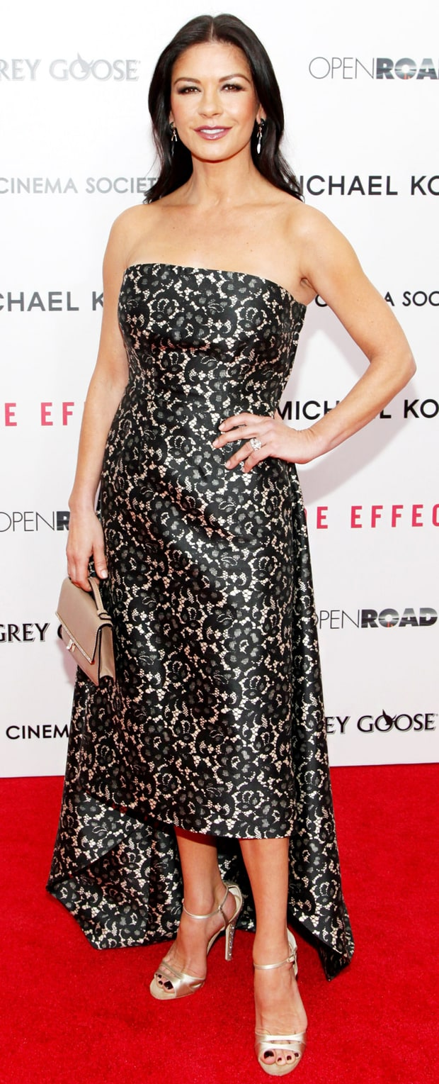 Catherine Zeta-Jones: Side Effects Premiere