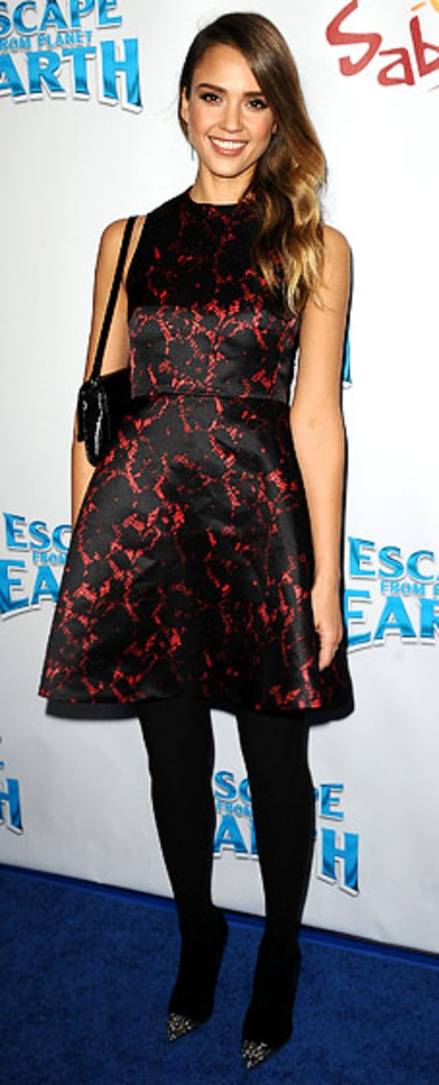 Jessica Alba: Escape From Planet Earth Los Angeles Premiere