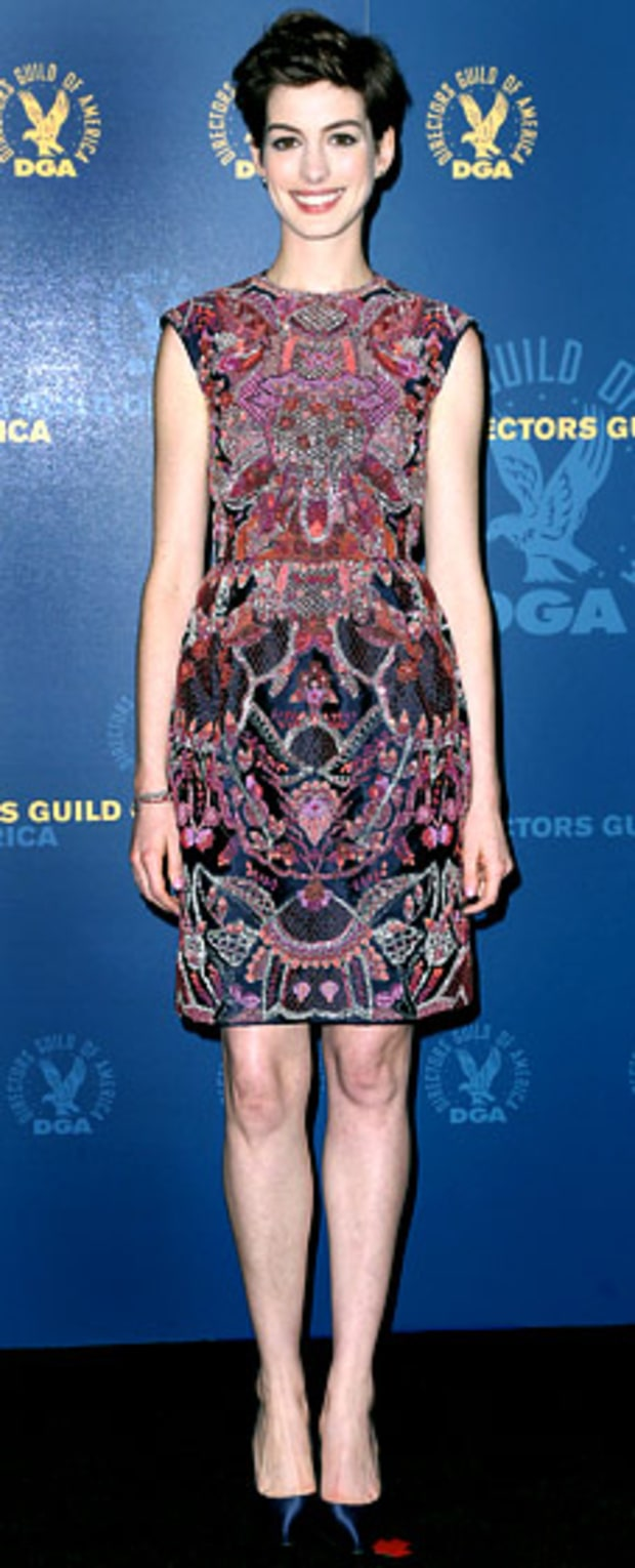 Anne Hathaway:  65th Annual Directors Guild of America Awards