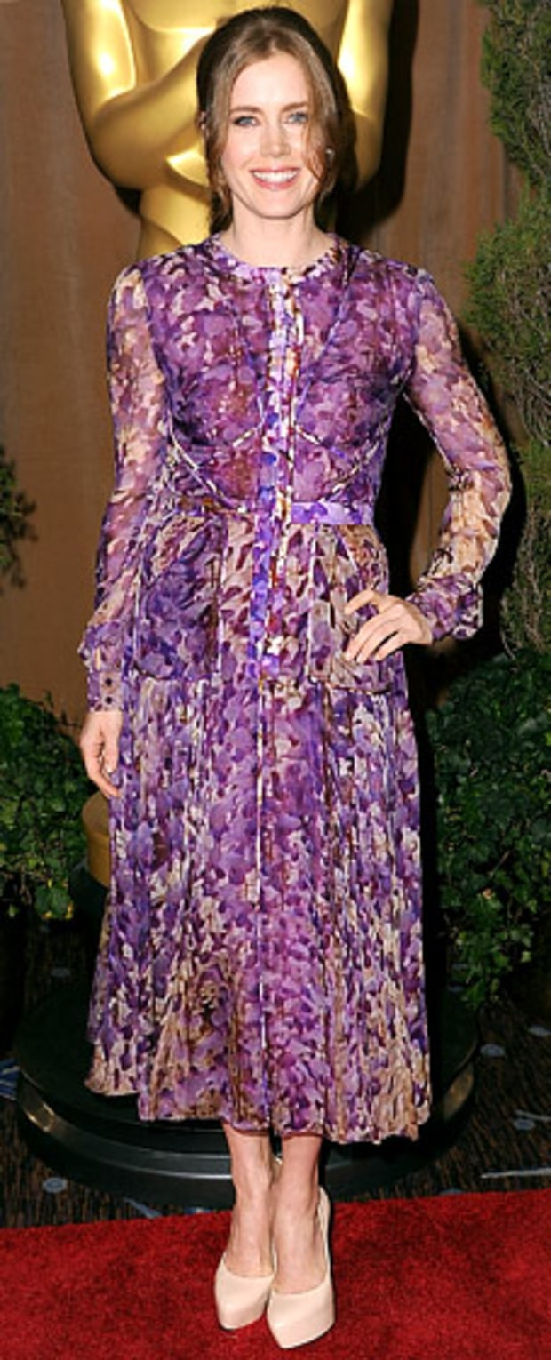 Amy Adams: 2013 Academy Awards Nominations Luncheon